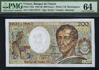 Antique World banknotes - World banknotes