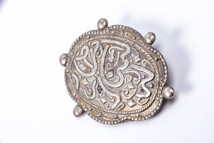 Antique Collection of 3 old ethnic silver jewelry