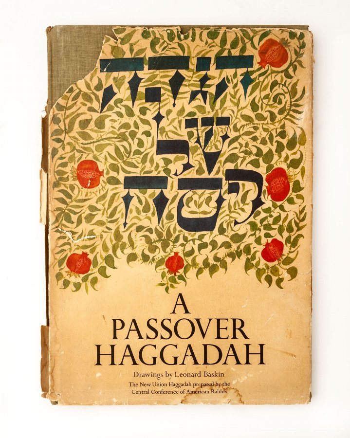 Leonard Baskin Passover Hagadah - Including a Dedication to Bezem