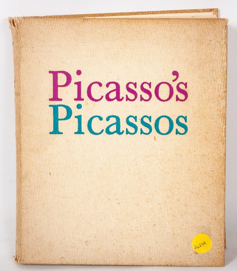 Picasso's Picassos, David Douglas Duncan, Macmillan and Co, Switzerland, 1961