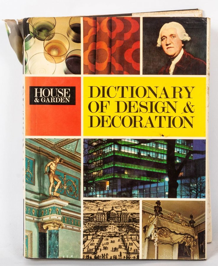 Dictionary of Design & Decoration, Collins London & Glasgow/ Conde Nast,1973