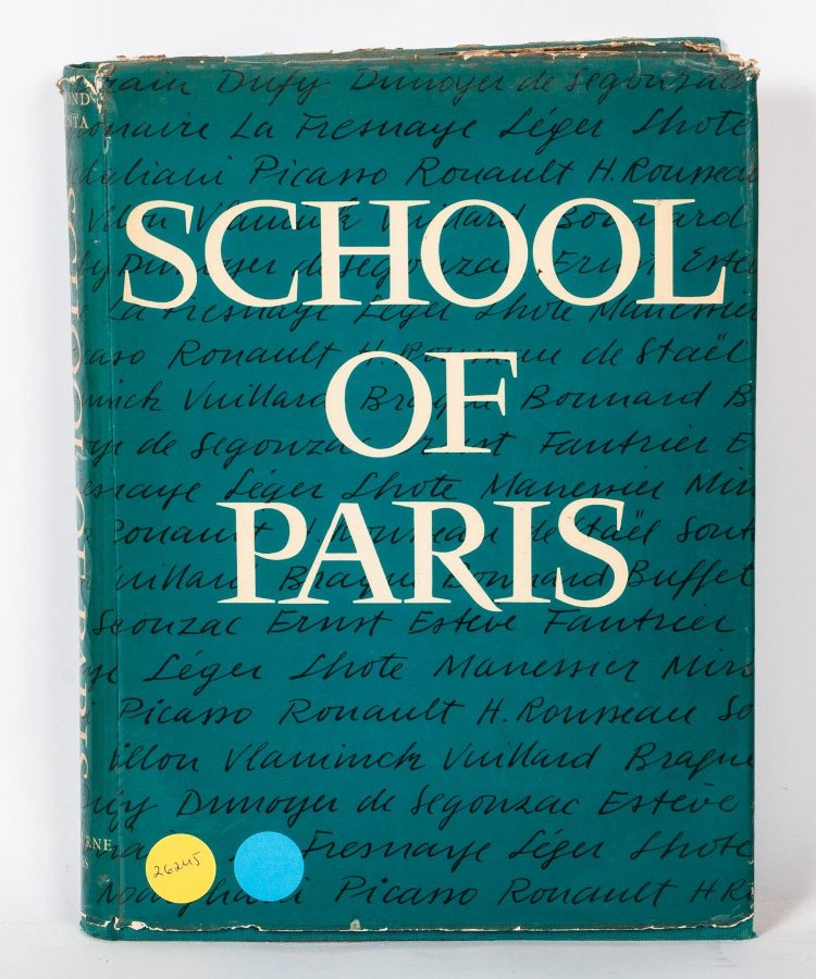 School of Paris, Raymond Nacenta, Oldbourne Press, London, 1960