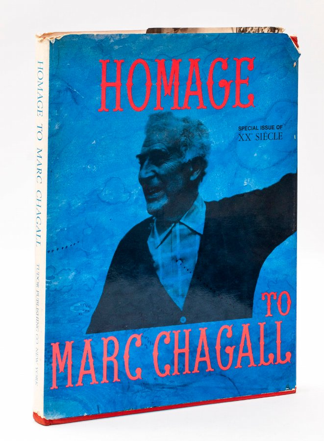 Homage to Marc Chagall, G. di San Lazzaro, Tudor Publishing & Co, NY - Including an Original Colo...