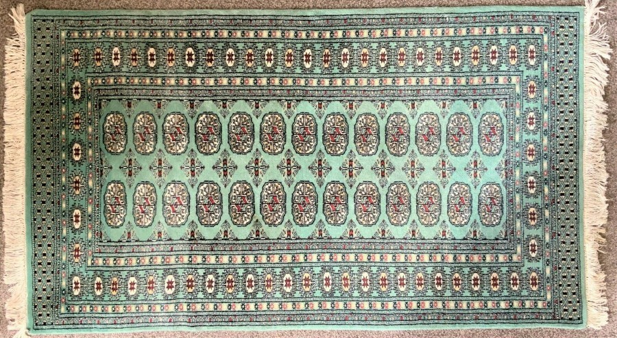 FABULOUS QUALITY 20thc VINTAGE KAYAM ORIENTAL WOOLEN FLOOR RUG - EXC CONDITION!