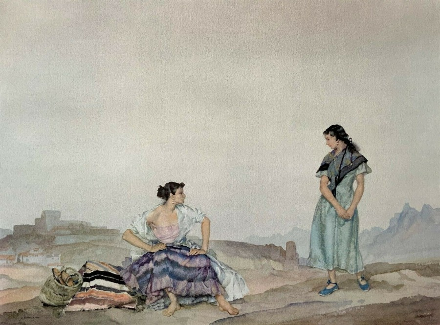 Large Ltd Edition Sir William Russell Flint Medici Society Print (1 of Just 650)