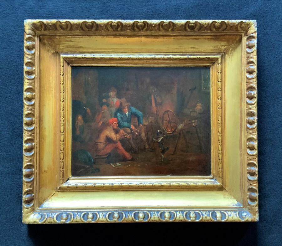 Follower of 'Jan Josef Horemans' (1682-1759) Original 18thc Flemish Oil Painting