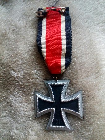 Antique German Iron Cross. With makers mark.