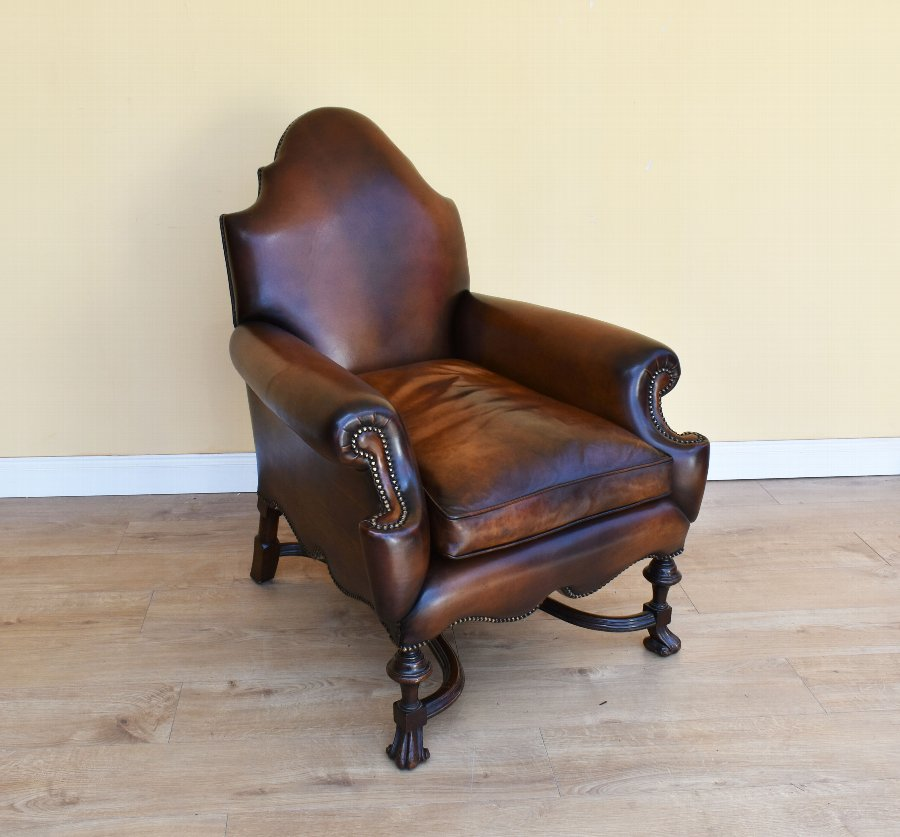 Victorian Walnut Framed Arm Chair