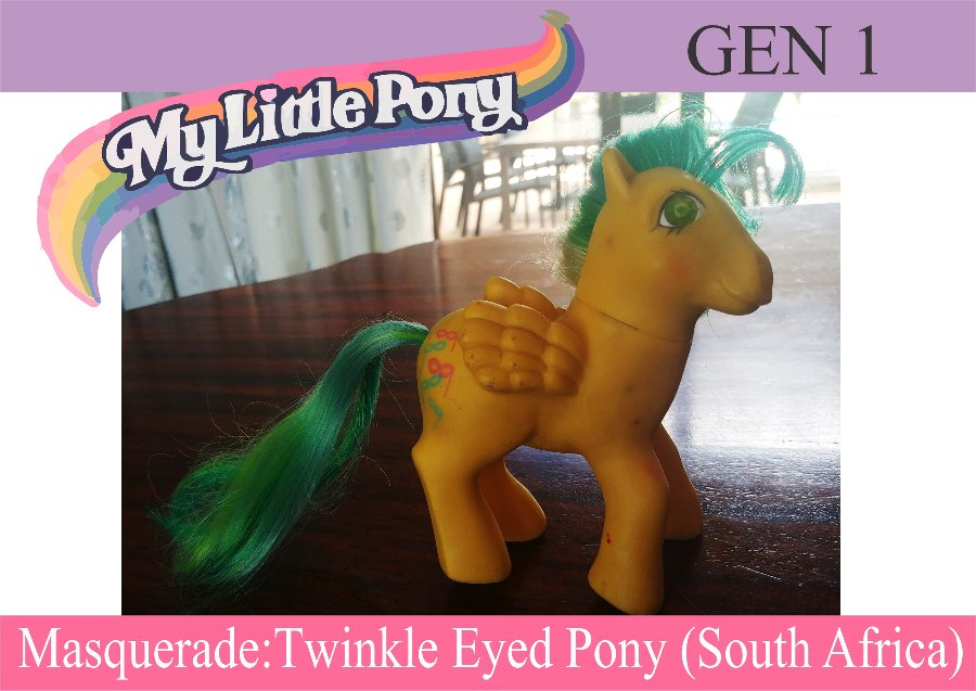 My Little Pony Gen 1 - Masquerade - Twinkle Eyes Winged Pony
