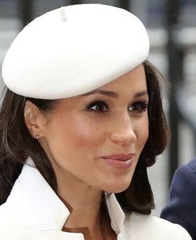 Antique Kangol Cream Vintage Beret Hat Meghan Markle Duchess of Sussex Style