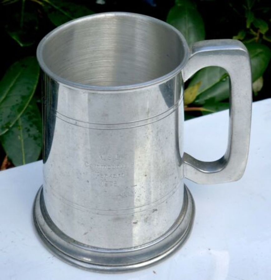 N.S.C Commodores Tankard 1976