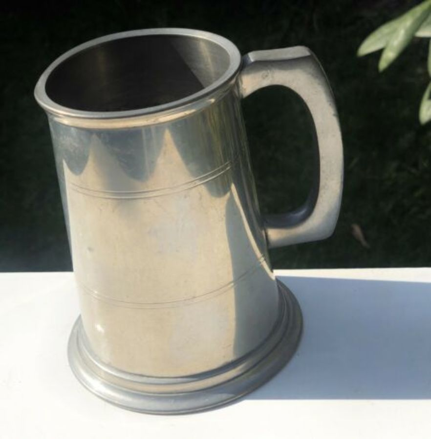 Tankard Made From Sheffield English Pewter By Pinder Bros