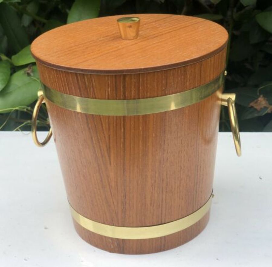 Brass Handle Wooden Barrel Human Pet Cat Dog Urn Ashes Cremation Memorial Casket