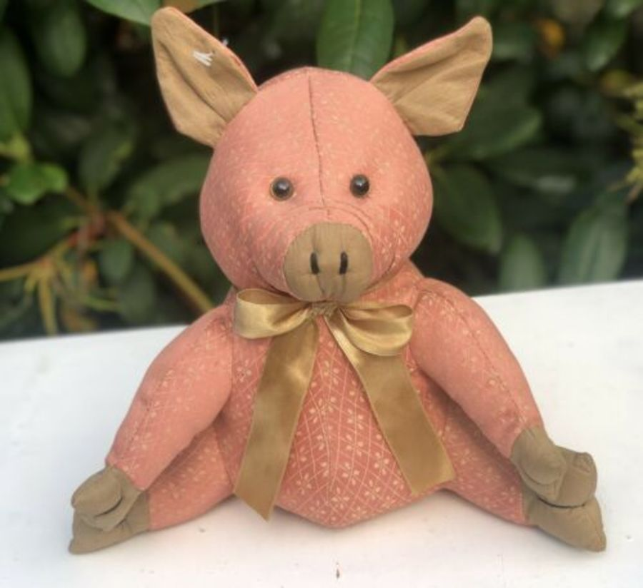 Doramouse & Company Pig Or Piglet Design Soft Toy Door Stop