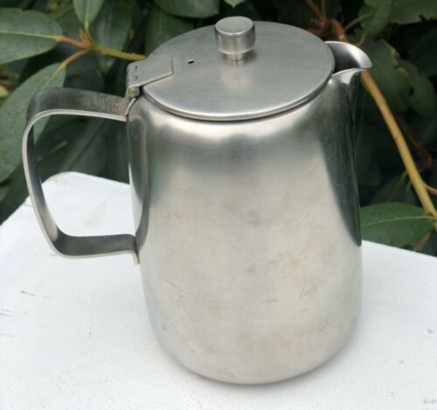 Old Hall Stainless Steel 1 1/2 Pint Tall Teapot Tea Coffee Pot