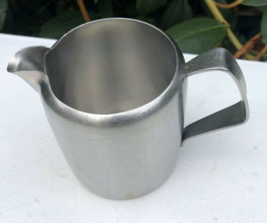 Old Hall Stainless Steel Tall Shaped Milk Jug