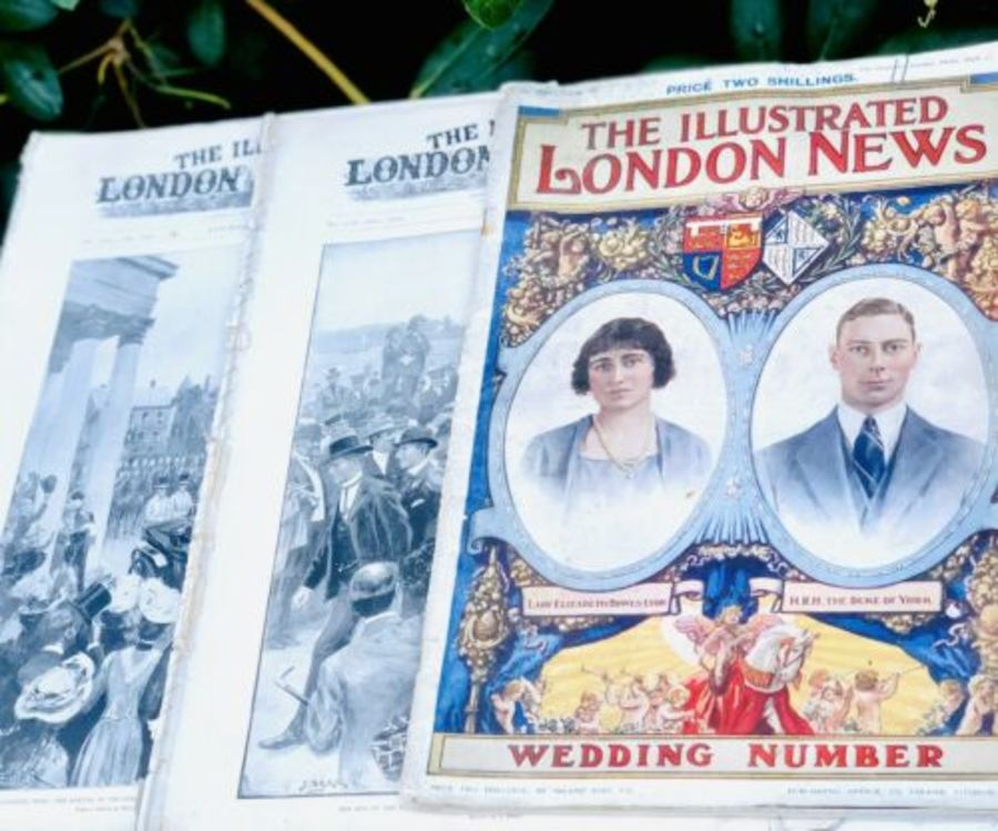 The Illustrated London News Duke Of York Royal Wedding And Two Others