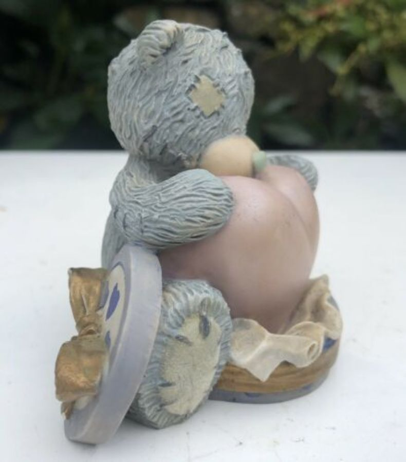 Antique Me To You Bear Tatty Teddy Sending You My Love Figure Figurine Ornament Gift