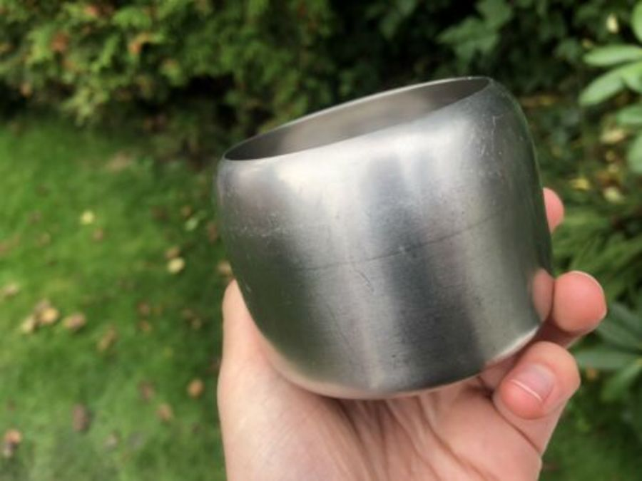Antique Sugar Bowl By Old Hall Made From Stainless Steel