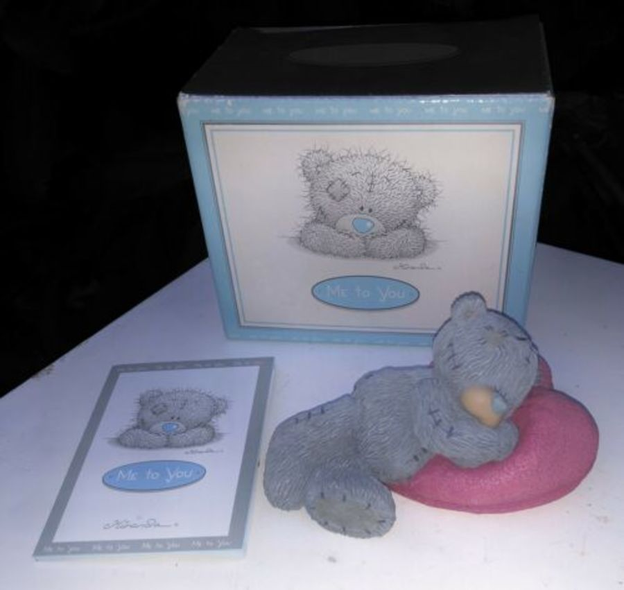 Me To You Bear Tatty Teddy Dreaming Of You Love Heart Figure Figurine Ornament