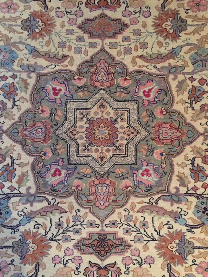 Antique Turkish handmade Rug (hereke)