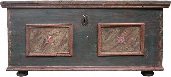 Antique Little alpine chest