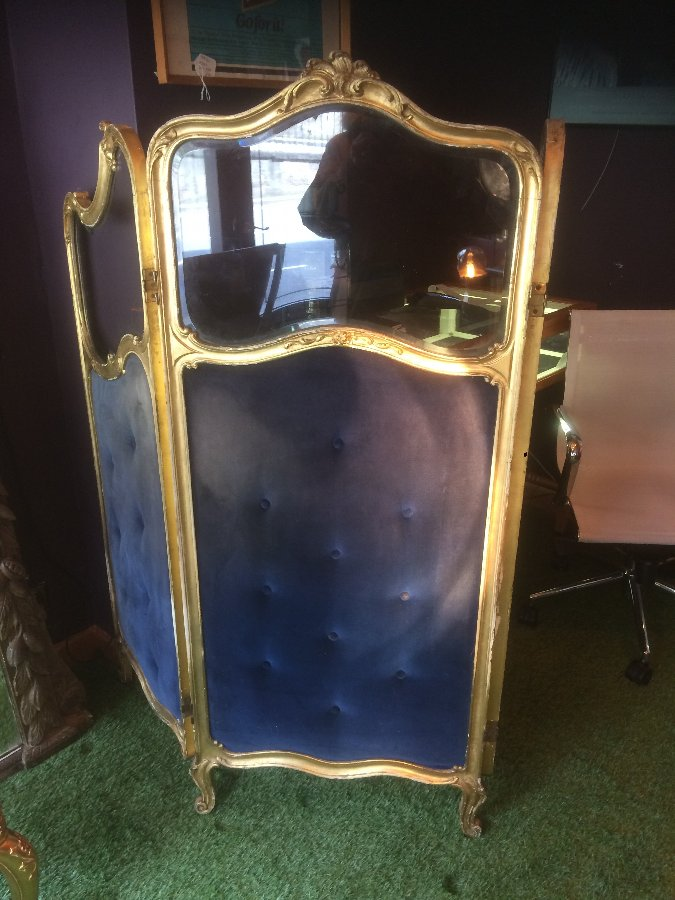 Antique Antique French ladies dressing screen