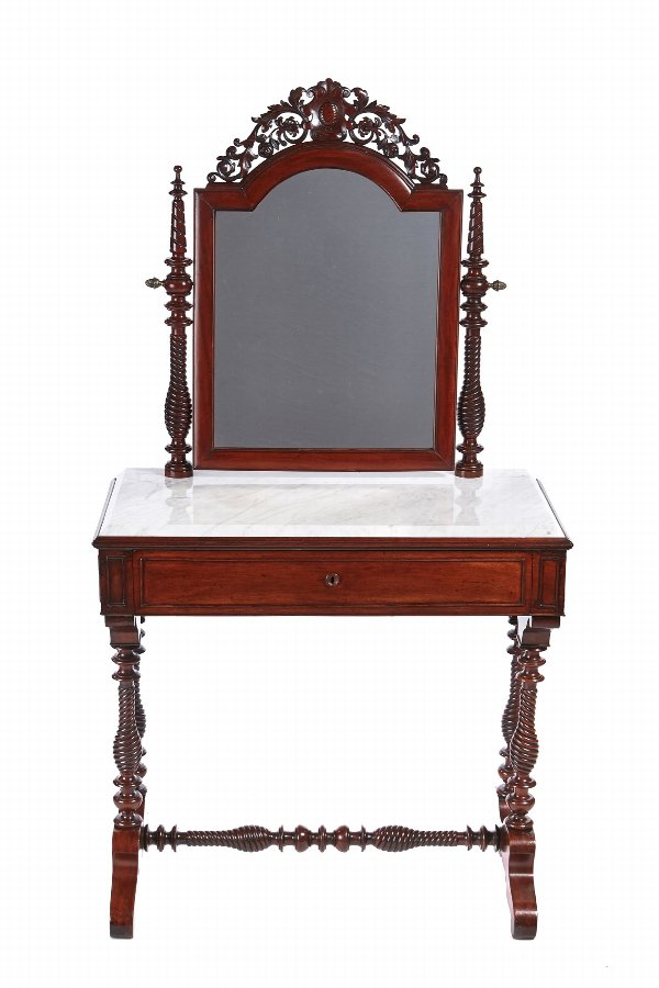 Fantastic Quality Victorian Mahogany Dressing Table