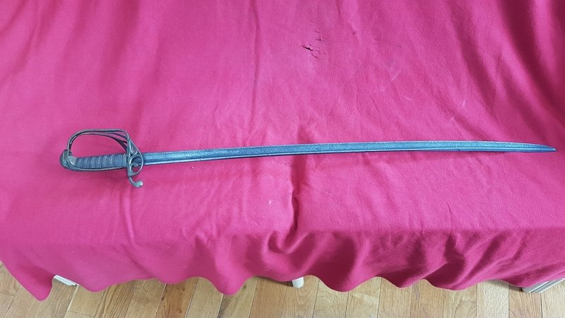 1822 pattern British infantry officers sword