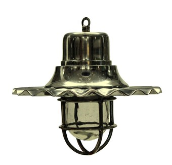 Antique A SET OF FOUR NICKEL SHIP LIGHTS
