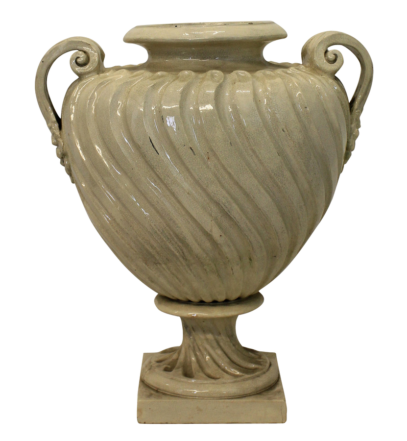 A LARGE ENGLISH DOULTON URN