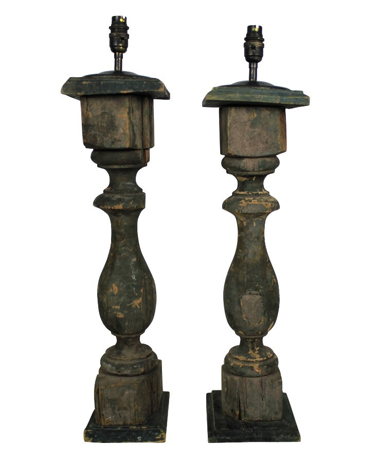 FRENCH BALUSTRADE LAMPS