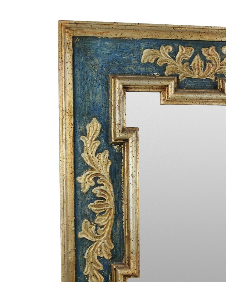 Antique A MID CENTURY FLORENTINE MIRROR