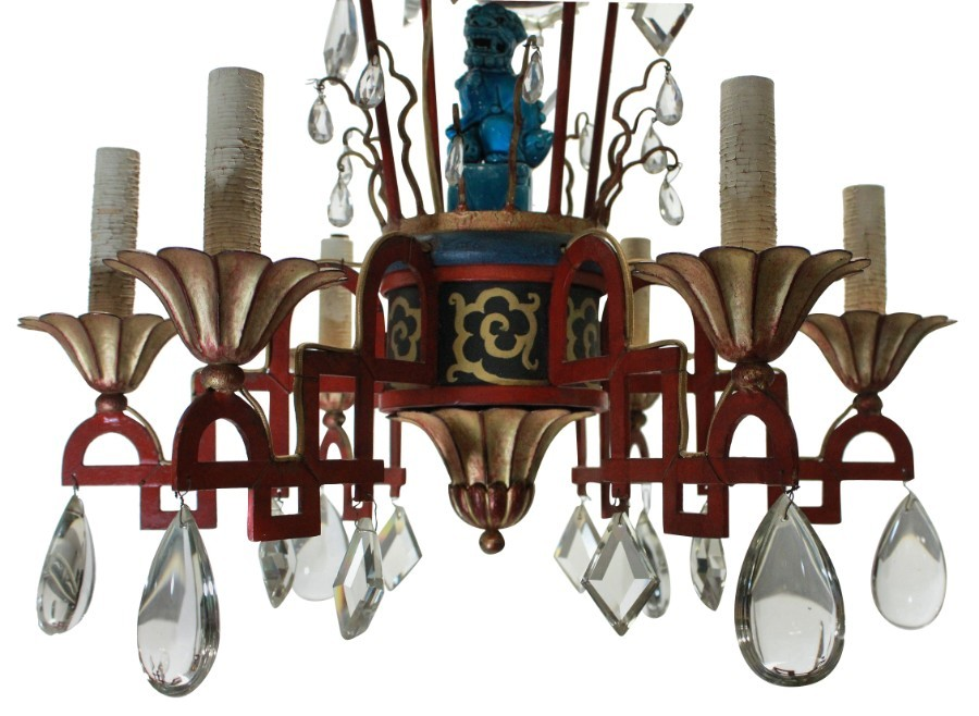 Antique A BRIGHTON PAVILION CHANDELIER