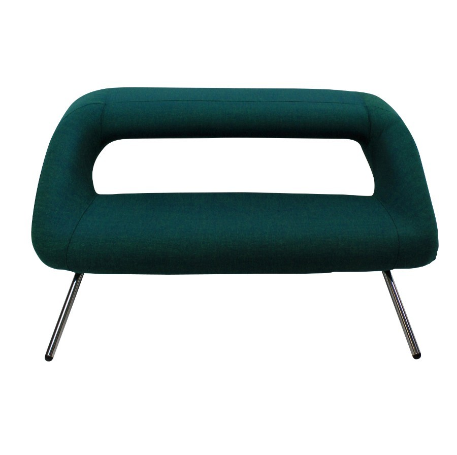 Antique AN ITALIAN MODERNIST SOFA IN EMERALD