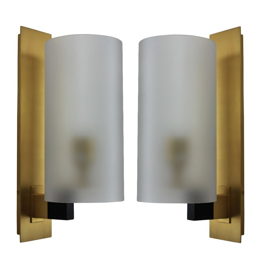 A PAIR OF BESPOKE ENGLISH WALL SCONCES