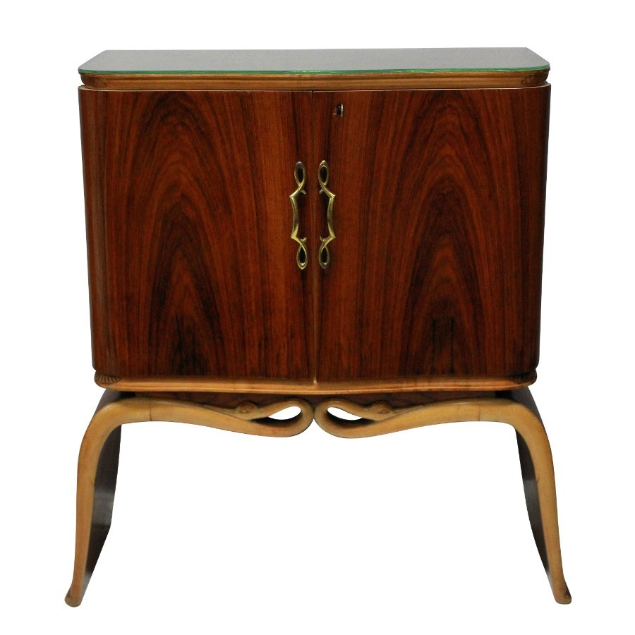 AN ELEGANT COCKTAIL CABINET BY BORSANI