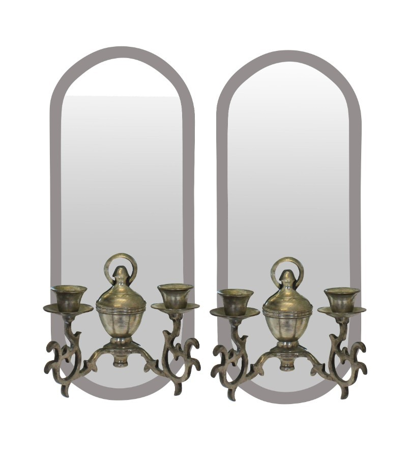 A PAIR OF FRENCH GIRANDOLE
