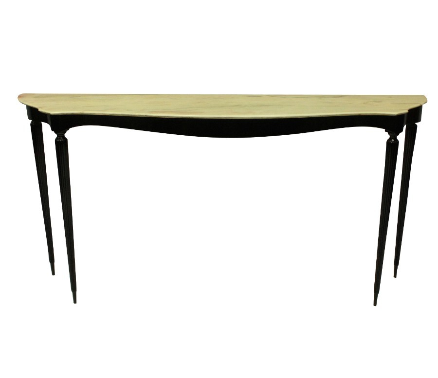 A LARGE ITALIAN MID CENTURY CONSOLE TABLE