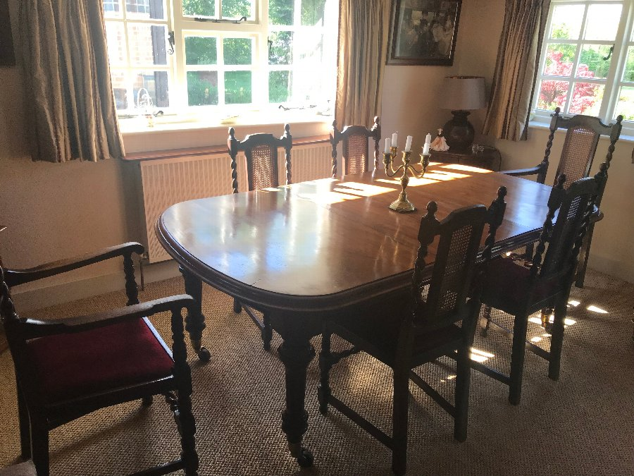 Victorian extending dining table  REDUCED