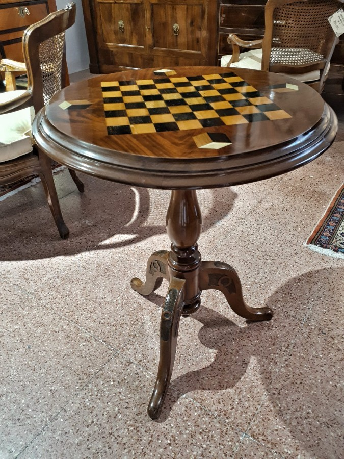 FREE SHIPPING 19th Century Napoleon III Game Table RESTORED