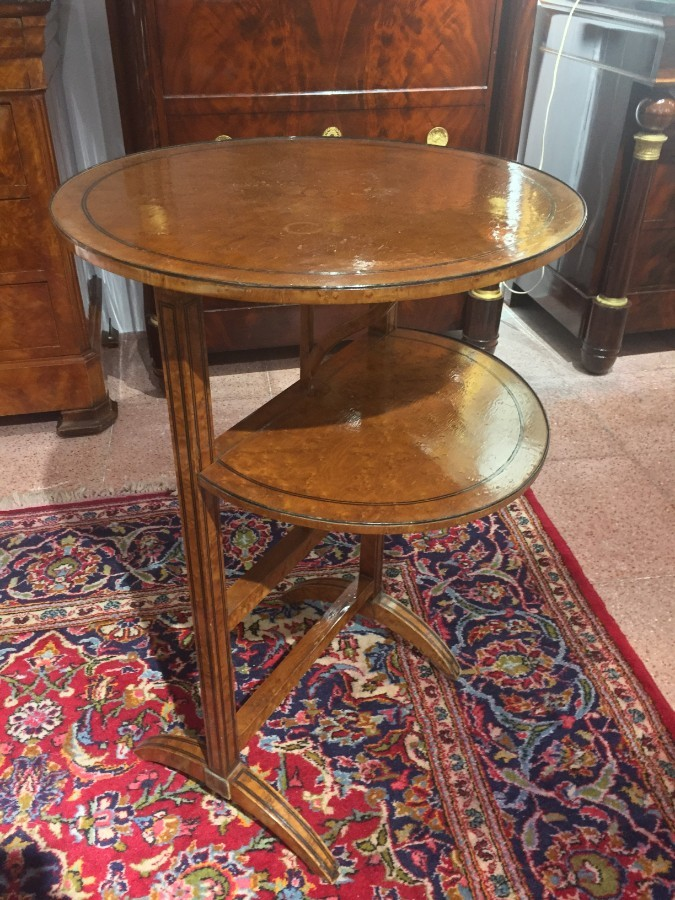 FREE SHIPPING 19th Century Napoleon III Side Table