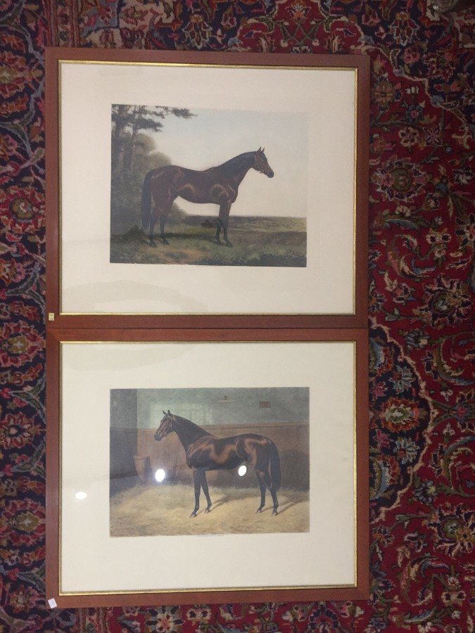 FREE SHIPPING Pair of 20th Century Prints by A C Havell