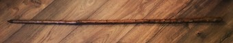 Antique  An Austrian trekking stick dated 1885.