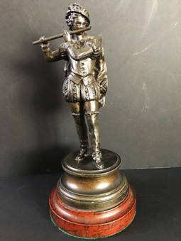 Antique 20th Century Spelter figurine.