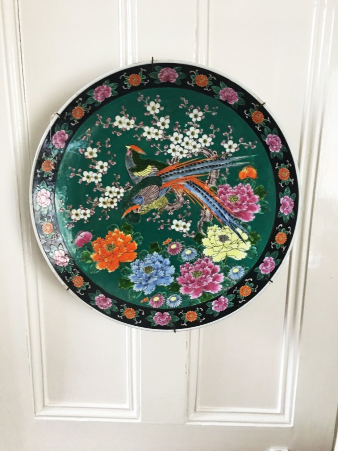 20th Century Japanese antique wall plate / charger.