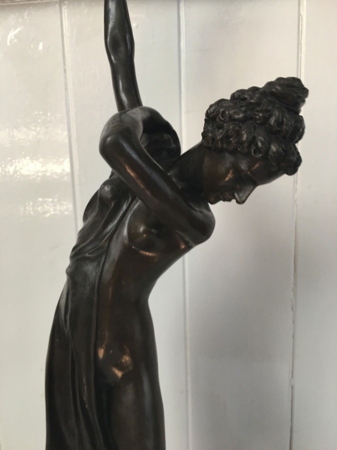 Antique Art Deco Styal Bronze