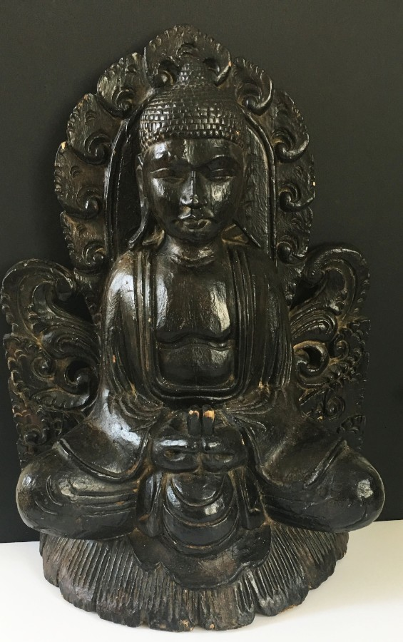 Antique 19th Century Oriental antique Buddha