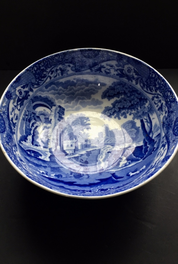 COPELAND SPODE 'ITALIAN' BLUE AND WHITE BOWL