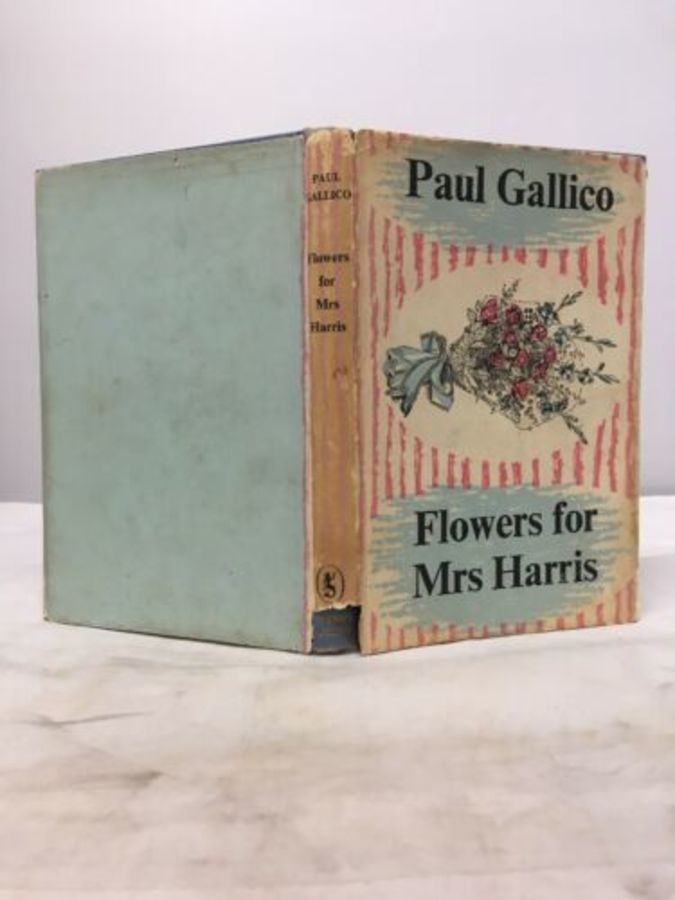 Vintage Book 'flowers For Mrs Harris By Paul Gallico 1958